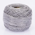 Orenbayan Koton Perle No:8 Embroidery Thread, Grey - 4077