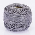 Orenbayan Koton Perle No:8 Embroidery Thread, Grey - 4078