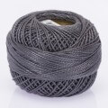 Orenbayan Koton Perle No:8 Embroidery Thread, Grey - 483