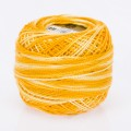 Orenbayan Koton Perle No:8 Embroidery Thread, Variegated Colors - 169