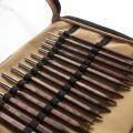 KnitPro Symfonie Cubics Değiştirilebilir Ahşap Kubik Misinalı Şiş Seti - 25613