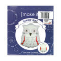 Make it 29x37 cm Cushion Embroidery Kit, Owl - 585148