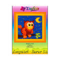 Duftin 15x15 cm Long Stitch Embroidery Kit, Owl - 17001- HU0346