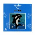 Anchor Balina Çocuk Uzun İşleme Nakış Kiti - 3690000-20020