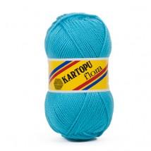 Kartopu Flora Gök Mavisi El Örgü İpi - K515