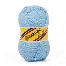 Kartopu Flora Açık Mavi El Örgü İpi - K540