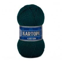 Kartopu Kar-Sim Yeşil El Örgü İpi - K467