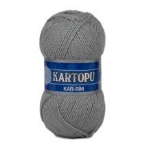 Kartopu Kar-Sim Gri El Örgü İpi -K920