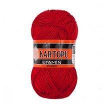 Kartopu Etamin Kırmızı El Örgü İpi - K150