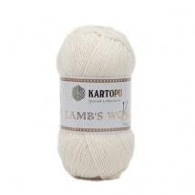 Kartopu Lamb's Wool Krem El Örgü İpi - K025