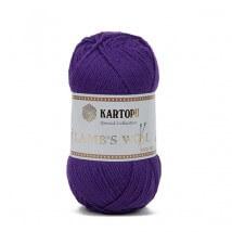 Kartopu Lamb's Wool Mor El Örgü İpi - K694