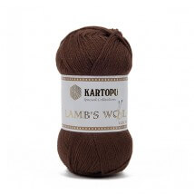Kartopu Lamb's Wool Kahverengi El Örgü İpi - K892