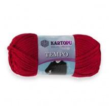 Kartopu Tempo Kırmızı El Örgü İpi - K132