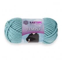 Kartopu Tempo Mavi El Örgü İpi - K435