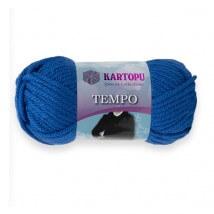 Kartopu Tempo Mavi El Örgü İpi - K530