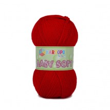 Kartopu Baby Soft Kırmızı Bebek Yünü - K150