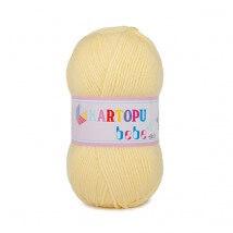 Kartopu Bebe Açık Sarı Bebek Yünü - K331
