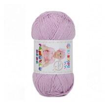 Kartopu Pamuklu Bebe Baby Cotton Lila Bebek Yünü - K705