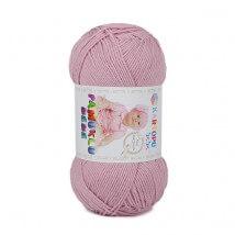 Kartopu Pamuklu Bebe Baby Cotton Lila Bebek Yünü - K763