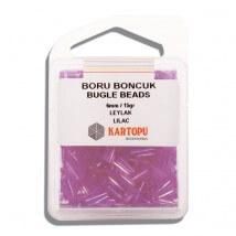 Kartopu 6 mm Leylak Boru Boncuk - 04.110