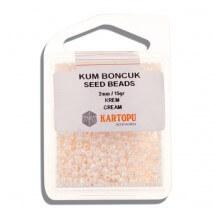 Kartopu 2 mm Krem Kum Boncuk - 07.114