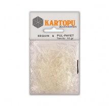 Kartopu Şeffaf Yıldız Figürlü Figürel Pul Payet - PP7