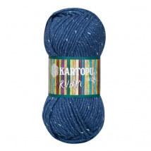 Kartopu Rubin Mavi El Örgü İpi - K650