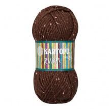 Kartopu Rubin Kahverengi El Örgü İpi - K892