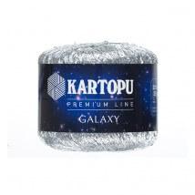 Kartopu 5'li paket Galaxy Gümüş El Örgü İpi - KF350