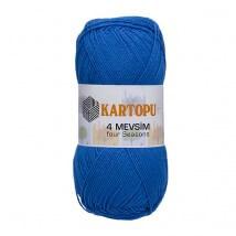 Kartopu 4 Mevsim Mavi El Örgü İpi - K523
