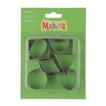 Makin's Clay 3'lü Kesici Kalıp Seti