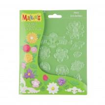 Makin's Clay Çiçekli Model/Şekilleme Kalıbı