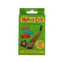 Makin's Clay 120 gr Polimer Kil 4 Renk - Toprak