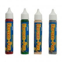 Horizon 4'lü  Karışık Renk Mum Süsleme Kalemi