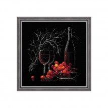 RIOLIS Natürmort Şarap Temalı Etamin Kiti - 1239