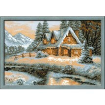 RIOLIS Kış Manzarası Temalı Etamin Kiti - 1080