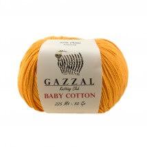 Gazzal Baby Cotton Turuncu Bebek Yünü - 3416