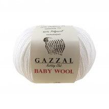 Gazzal Baby Wool Beyaz Bebek Yünü - 801