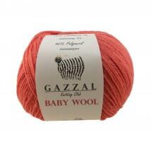 Gazzal Baby Wool Kırmızı Bebek Yünü - 819