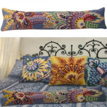 Collection D'art 20x90 cm Serenad Desenli Goblen Yastık Kiti