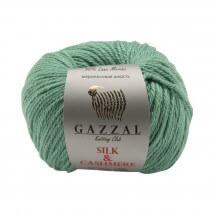 Gazzal Silk&Cashmere Yeşil El Örgü İpi - 456