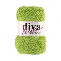 Diva Makrome Fıstık Yeşili El Örgü İpi - 2500