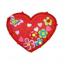 Kleiber Kırmızı Kalp Yastık Keçe Kiti - 931-31