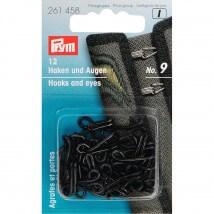 PRYM 9 Numara Çelik Deri Agraf Kopça - 261458