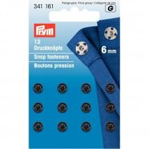 PRYM 6 mm 12 Set Metal Çıt Çıt - 341161