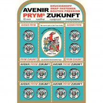 PRYM 15 mm 12 Set Metal Çıt Çıt - 341219