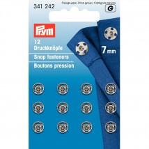 PRYM 7 mm 12 Set Metal Çıt Çıt - 341242