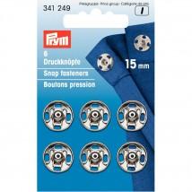 PRYM 15 mm 6 Set Metal Çıt Çıt - 341249