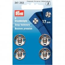 PRYM 17 mm 4 Set Metal Çıt Çıt - 341253