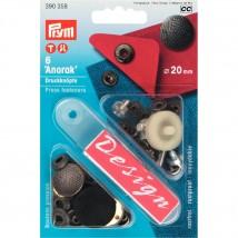 PRYM 20 mm 6 Adet Baskılı Çıt Çıt - 390358